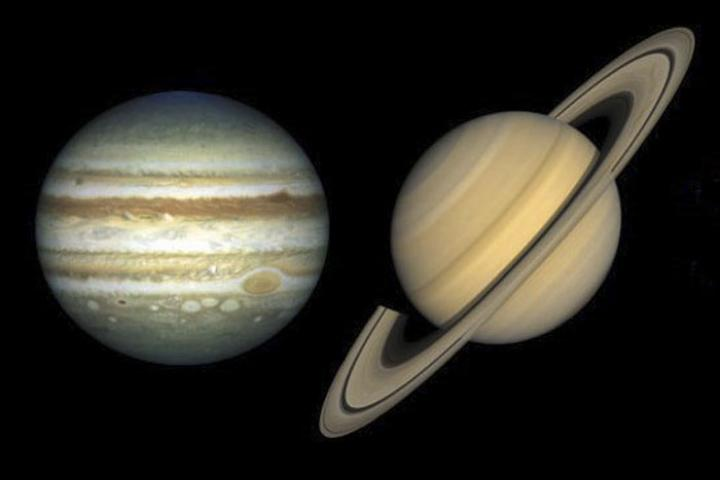 Đại trùng tụ sao Mộc và sao Thổ