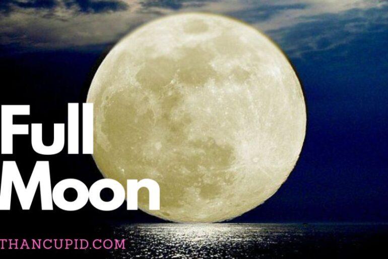 Full Moon Trăng Tròn ngày 23 tháng 7 năm 2021: Các yếu tố làm kích thích mối quan hệ